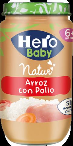 HBN ARROZ POLLO TIERNO 235 g 12 u